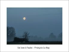 De lune à l'aube flr