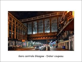 Gare centrale Glasgow dc