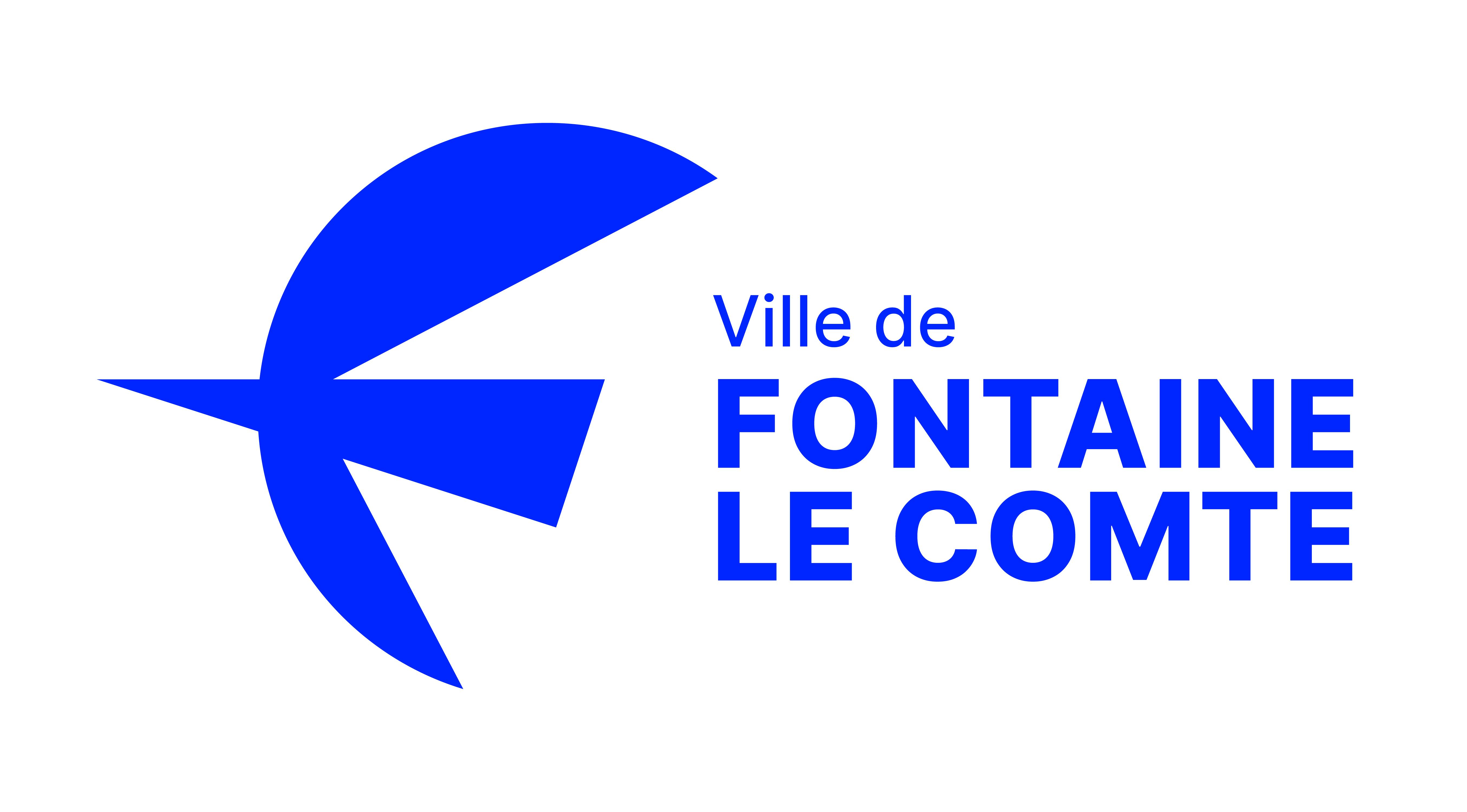 Fontaine_le_comte_CMJN_Logotype_horizontal-bleu